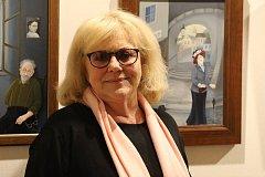 V Domě Štěpánka Netolického v Třeboni vystavuje své olejomalby a grafiky Iva Hüttnerová. Tento pátek od 17 hodin se zde s ní koná i povídání.