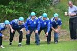 Soutěž hasičů ve Staňkově.