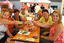 Jindřichohradecké pivní slavnosti se vydařily. Snímek z minulého ročníku.
