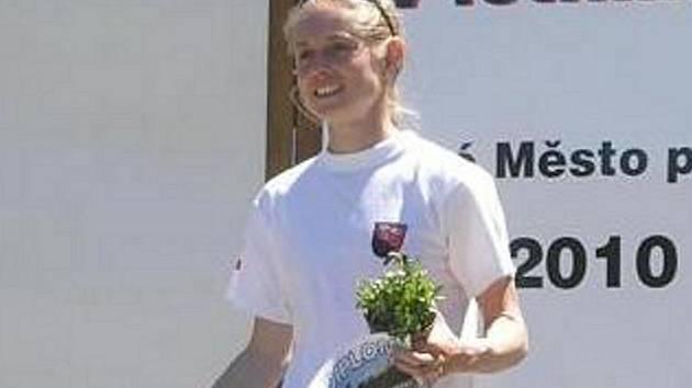 Pavla Schorná proměnila všechny své starty v I. kole Českého poháru v letním biatlonu ve vítězství.