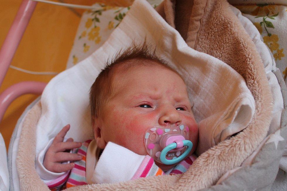 Sofie Rojková, Albeř. Narodila se 22. září Veronice a Jiřímu Rojkovým, vážila 4000 gramů a měřila 51 centimetrů.