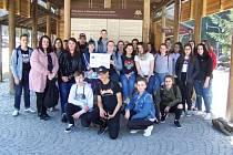 Národní park Bavorský les navštívilo nedávno v rámci projektu Škola bez hranic 25 studentů oboru Cestovní ruch OA, SOŠ a SOU Třeboň.