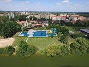 Venkovní koupaliště by u Světa v Třeboni mělo začít vznikat v roce 2018.