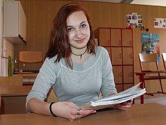 Simona Flídrová ze 3. ročníku střední zdravotnické školy v Jindřichově Hradci vyhrála psychologickou olympiádu zdravotnických škol z celé republiky.