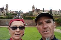 Při návštěvě města Pretoria zaujala cestovatele tamní zoologická zahrada.