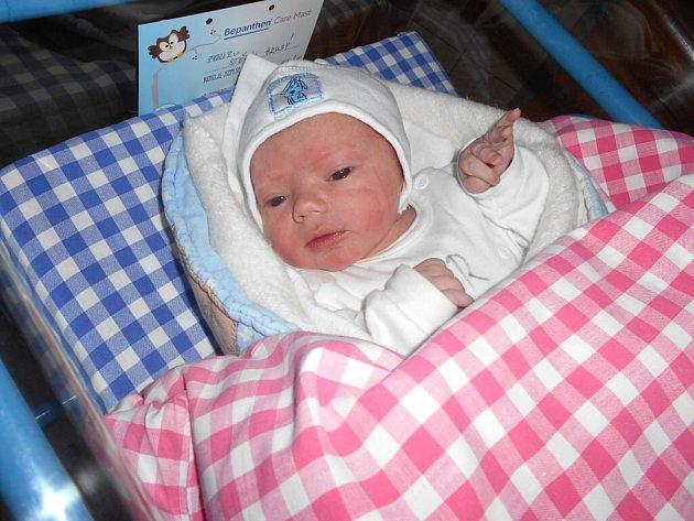 Štěpán Hrubý se narodil 5. listopadu v 16 hodin a 41 minut Veronice Šlajchrtové a Pavlovi Hrubému z Dolní Radouně. Vážil 3320 gramů a měřil 50 centimetrů.
