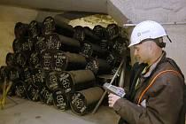 Ilustrační foto.  Uložiště radioaktivního odpadu SURAO