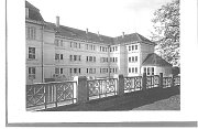 Budova gymnasia, 20.léta minulého století.