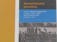 Knihu Komplikovaná proměna autora Jana Solpery vydalo Muzeum Jindřichohradecka jako V. svazek edice Acta Historica Novodomensia.
