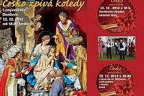 Přijďte si dnes zazpívat a zapojit se do projektu Deníku Česko zpívá koledy.