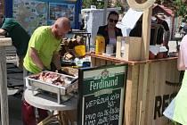 Food Festival se nesl ve znamení dobré hudby, jídla i pití.