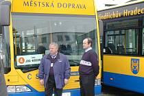 Městská autobusová doprava.