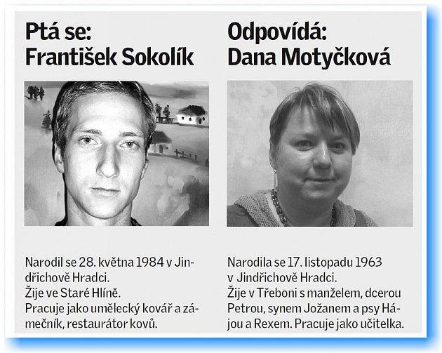 František Sokolík se ptal Dany Motyčkové.