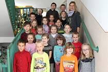 Žáci 1. B ze základní školy v Kardašově Řečici.