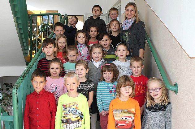 Žáci 1.B ze základní školy vKardašově Řečici.