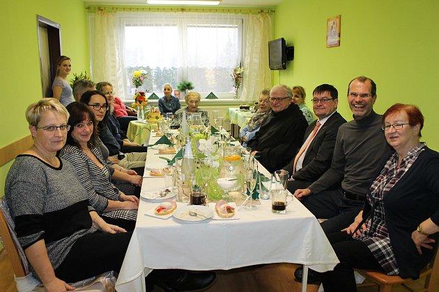 Anežka Struhadlová zNové Bystřice oslavila 100.narozeniny 9.ledna 2018.