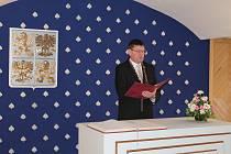 Občánky v Nové Bystřici přivítal v sobotu 13. dubna starosta města.