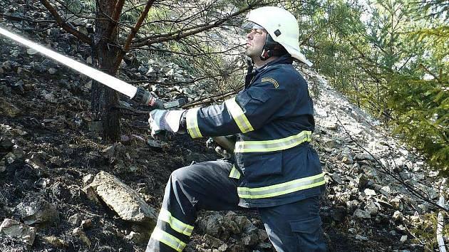 Sbor dobrovolných hasičů v Nové Včelnici. Zásahy u požárů.
