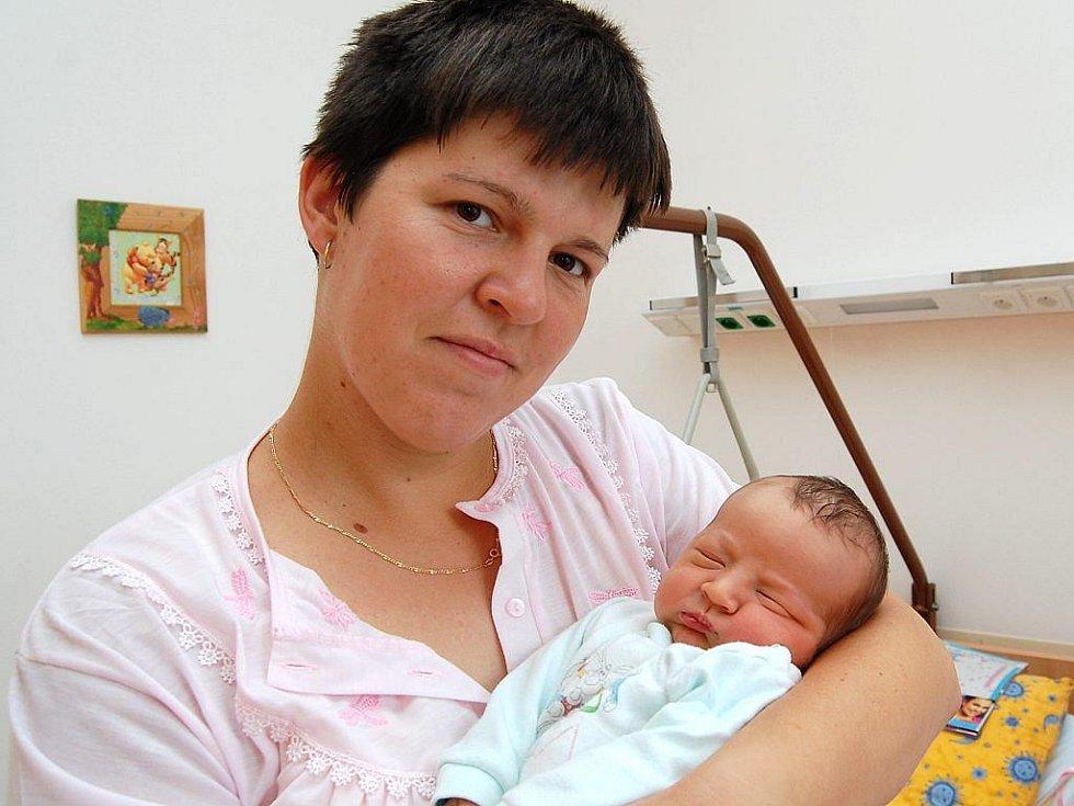 Petr Šindelář z Třeboně, 10. srpna 2009, 3600 gramů, 50 centimetrů