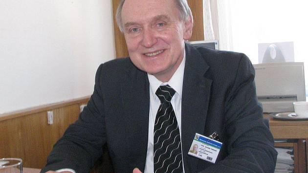 Předseda představenstva a. s. Nemocnice Jindřichův Hradec Jaroslav Vohnout.