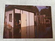 Povodně 2002: Zatopení zahrádky pod Světskou hrází.