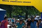 Turistickou sezónu v sobotu 12. září symbolicky uzavřel tradiční závod Přes kopec na Hradec aneb Jindřichohradecký pedál.