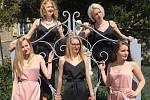 Pětice dam z Kalabis Quintetu zahraje na třeboňském zámku.