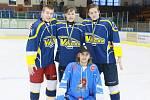 Jindřichohradecký zimní stadion hostil sedmý ročník dorosteneckého hokejového Memoriálu Jana Marka.