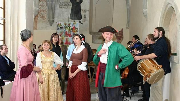 Slavnosti v Jindřichově Hradci. Ilustrační foto.