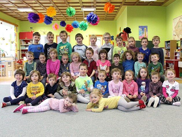 Děti zmateřské školy vPlavsku.