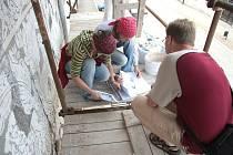 Letos bude pokračovat obnova historické fasády domu ve Slavonicích.