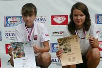 Mladí biatlonisté ze Starého Města pod Landštejnem o sobě zase dali pořádně vědět. Ondřej Mikulášek i Kristýna Minářová vybojovali ve třetím kole Českého poháru žactva, které se konalo v Bystřici pod Hostýnem, zlaté medaile.