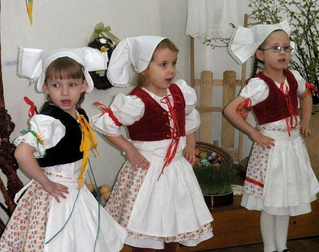 Zahájení velikonoční výstavy v dačickém muzeu.