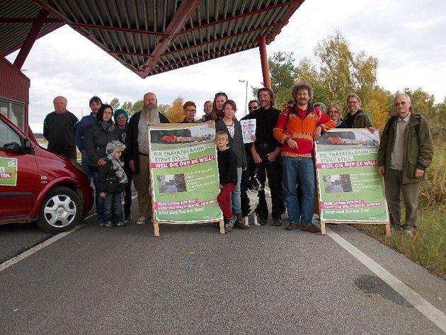 BLOKÁDY hraničního přechodu Fratres budou pokračovat také tento pátek.