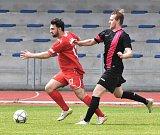 Fotbalisté Dačic prohráli v 24. kole krajského přeboru na stadionu píseckého béčka 0:3.