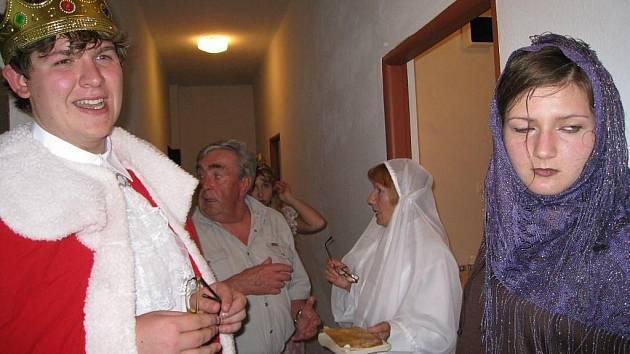 Zahájení suchdolského divadelního festivalu.