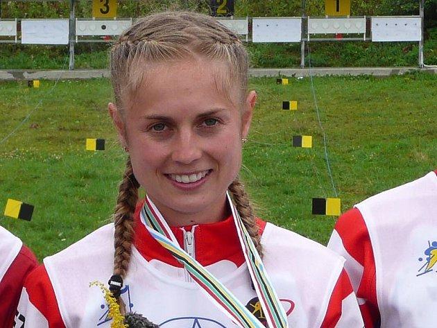 VÍTĚZKA. Královnou sportovců na Jindřichohradecku za rok 2006 se stala letní biatlonistka a vytrvalkyně Pavla Matyášová ze Starého Města, která by měla i nyní patřit k favoritům.