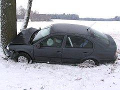 Nehoda u Vydří.