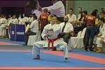 Karatista Vít Masař vybojoval na MS v Malajsii čtyři medaile, včetně té nejcennější. Foto: