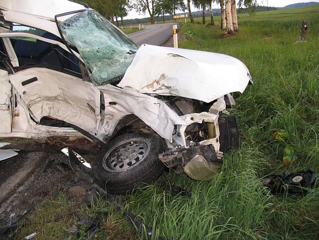 Tragická nehoda u Otína.