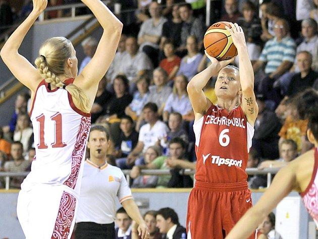 Basketbalistky Česka se v úterý a ve středu v J. Hradci utkají s Ukrajinou.