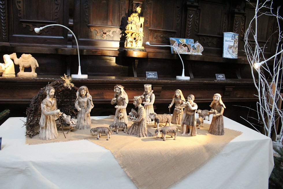 O nožík Tomáše Krýzy se v Jindřichově Hradci utkala šedesátka betlémářů.