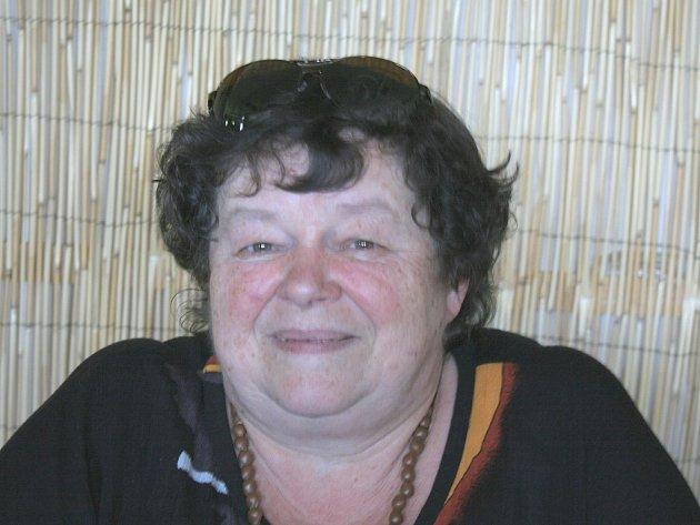 Pěstounka Anna Fürstová z Majdaleny.