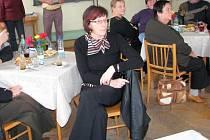 Jiřina Kadlecová na setkání knihovníku v Roseči.