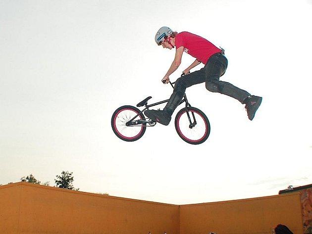 Biker Jakub Trojan.