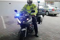 Jindřichohradečtí dopravní policisté mají novou motorku.