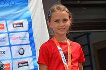 Mladší žákyně Anežka Poledníková z KB Staré Město vyhrála oba závody I. kola Českého poháru v Letohradu.