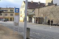 Nábřeží Ladislava Stehny v Jindřichově Hradci.