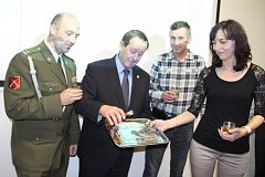 Přednáška a křest medaile se konaly v prostorách Muzea Jindřichohradecka.
