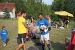 Fotbalisté se sešli v Sedle při turnaji Sedelské vápno.